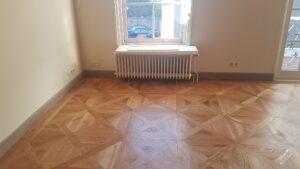 onderhoud houten vloer na
