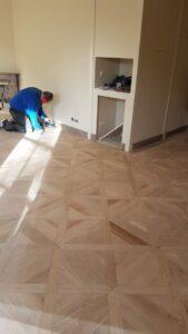 onderhoud houten vloer voor