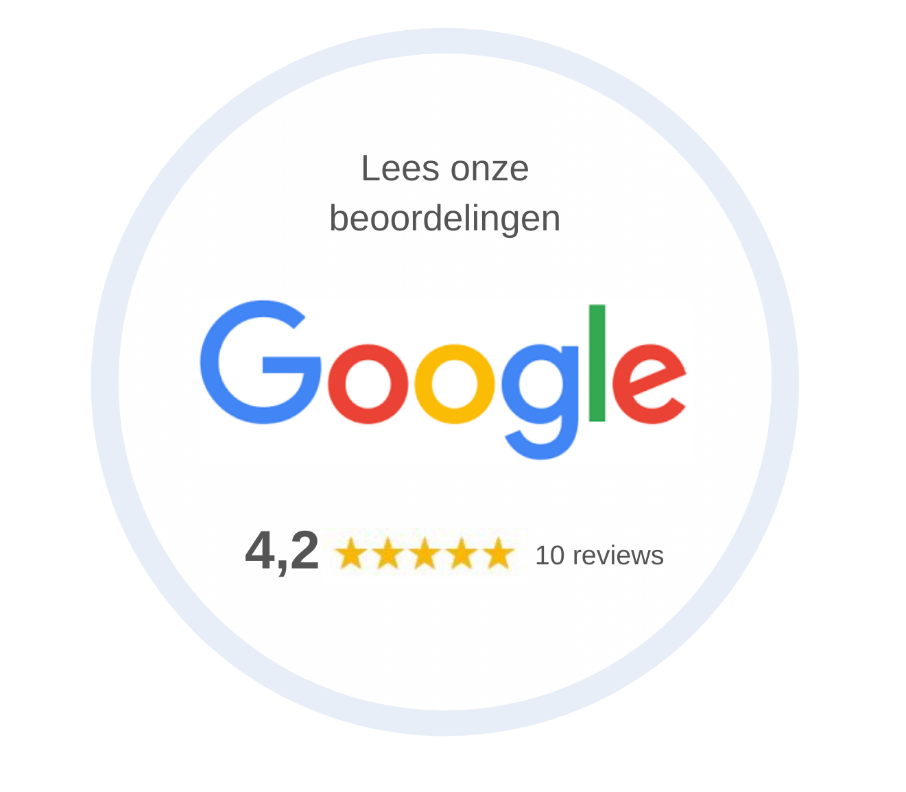 Google reviews D&B Vloeren