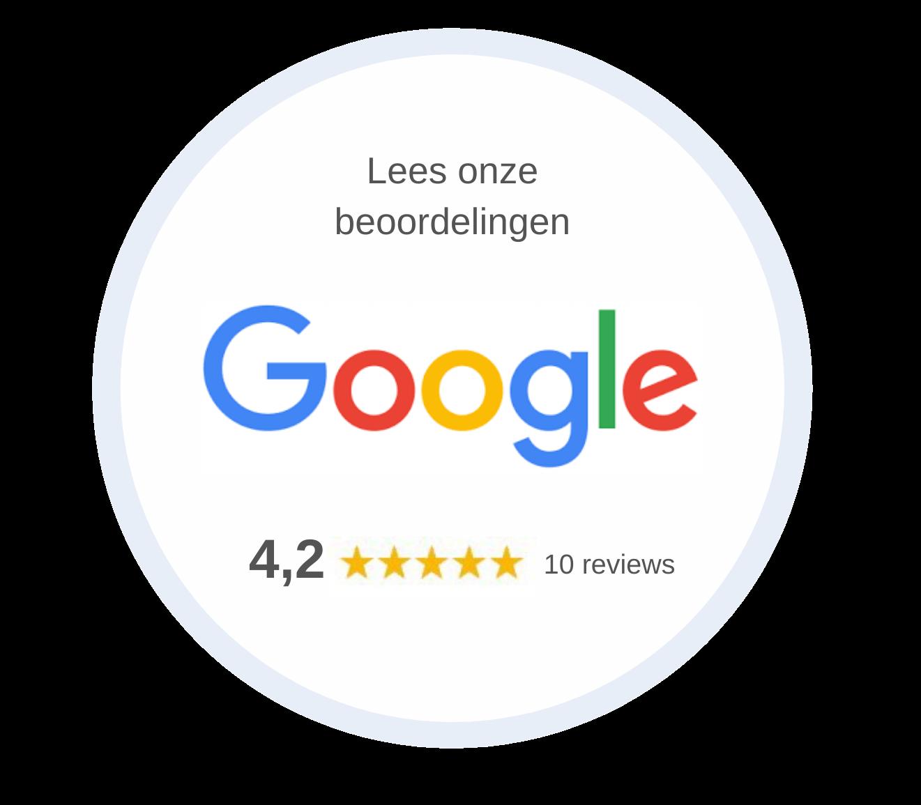 Google reviews D&B Vloeren